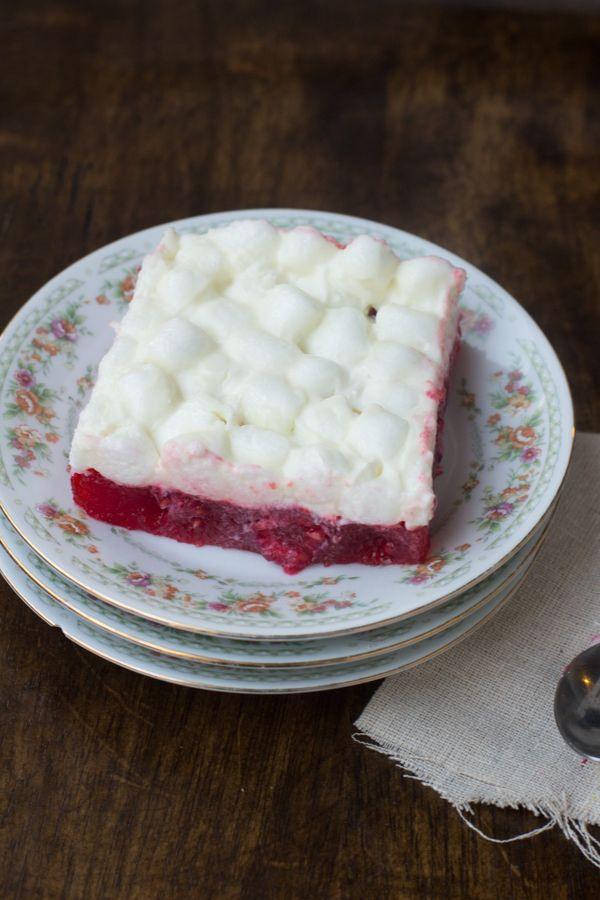 Raspberry Jello Salad Oh Sweet Basil Raspberry Jello Salad Jello Salad Jello Recipes