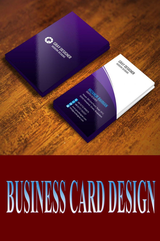 Najmuldesigner I Will Do Professional Business Card Design For 5 On Fiverr Com Business Card Design Professional Business Cards Professional Business Card Design