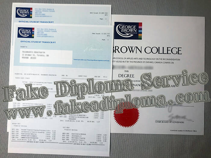 Your Perfect Combination Of George Brown University Transcript And Degree Certificate Fakeadiploma Com