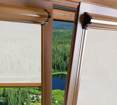 Estores enrollables corti glass un producto ideal para - Colocar estores enrollables ...