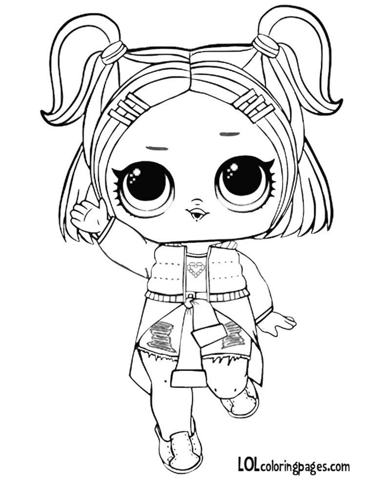 v.r.q.t lol surprise doll series 3 coloring page   Colorear LOL ...