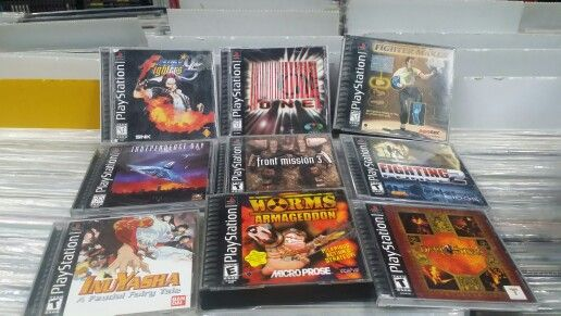 Sony playstation video games
