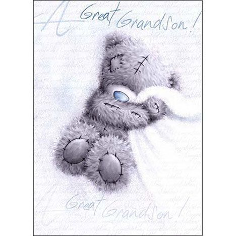 Birth of Grandson Me to You Bear Card £1.60