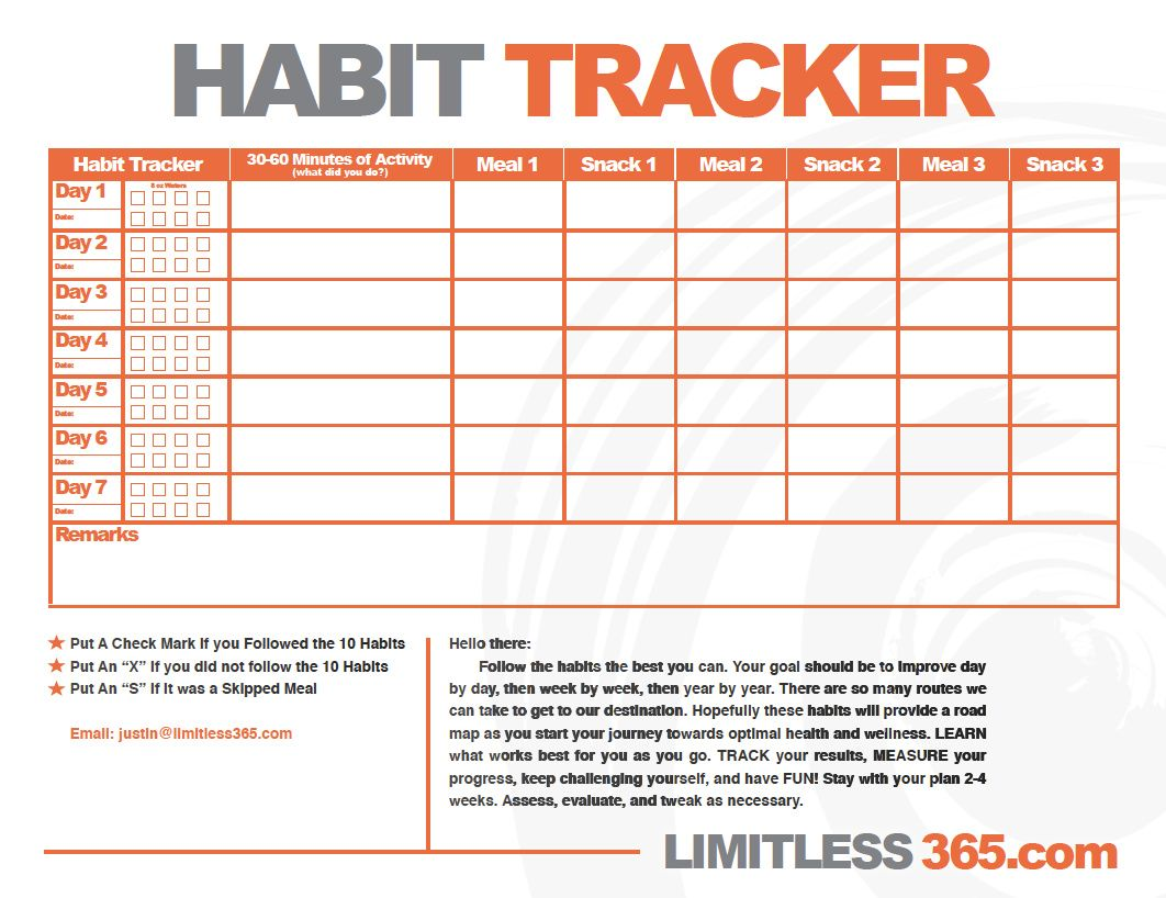 Healthy habit tracker use this chart to help track those healthy healthy habit tracker use this chart to help track those healthy habits from above and to nvjuhfo Gallery