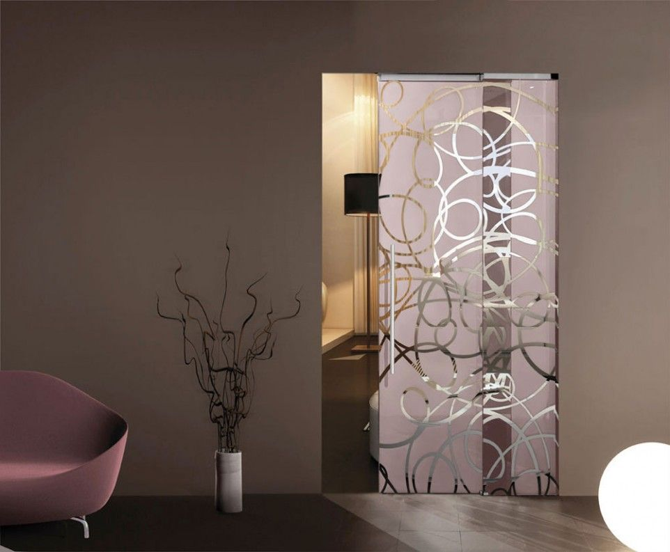 Home Improvement, Perfect Choice For Small Home: Pocket Doors With Glass:  Etched Glass · Sliding Room DividersModern ...