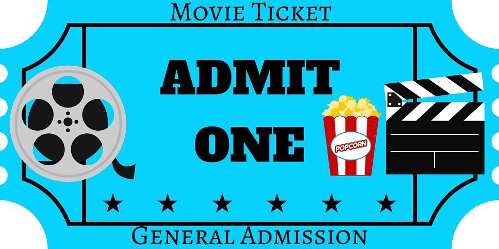 Free Printables Movie Ticket Invitations Movie Night