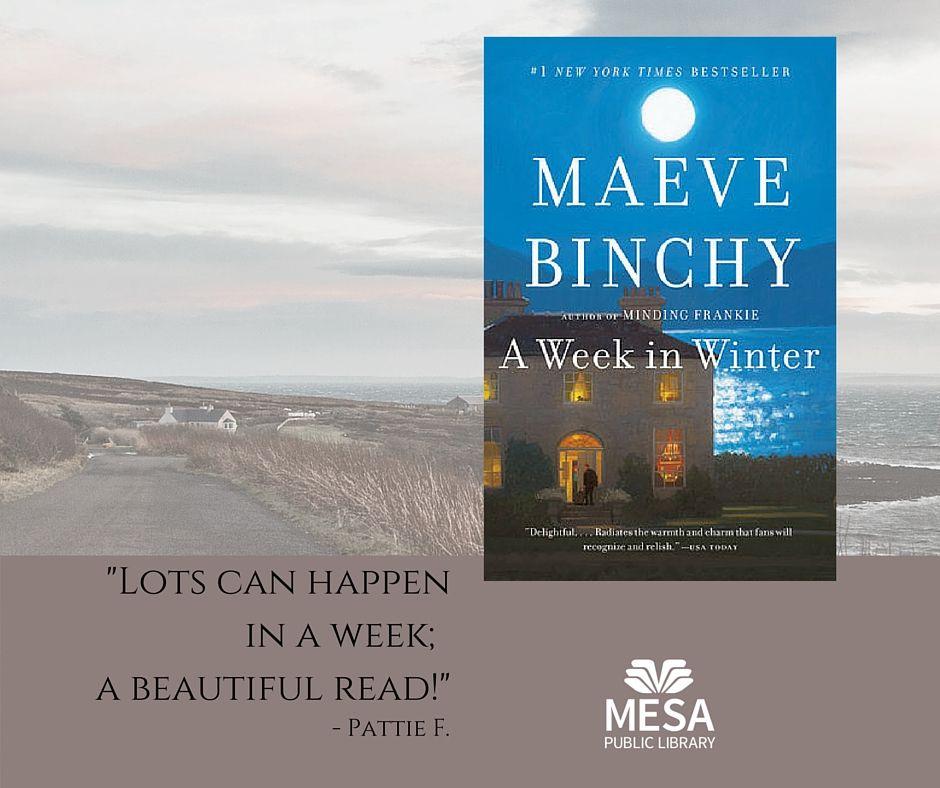 A week in winter by maeve binchy public library