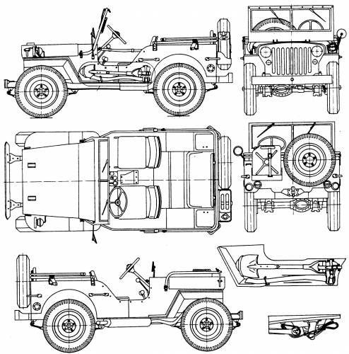 the-blueprints com - blueprints  u0026gt  cars  u0026gt  willys  u0026gt  willys jeep