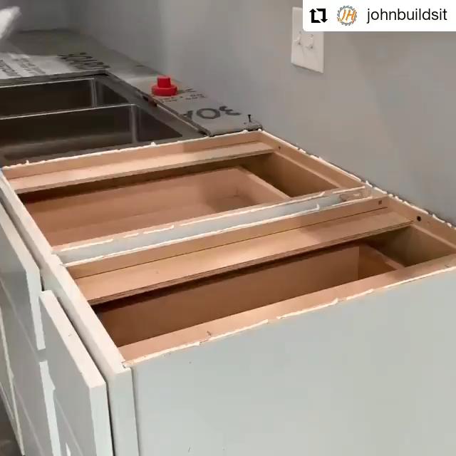 😱 DIY Renovation Kitchen 😱