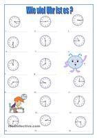 Wie viel Uhr ist es ?