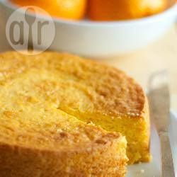 Simple recipe for an orange cake