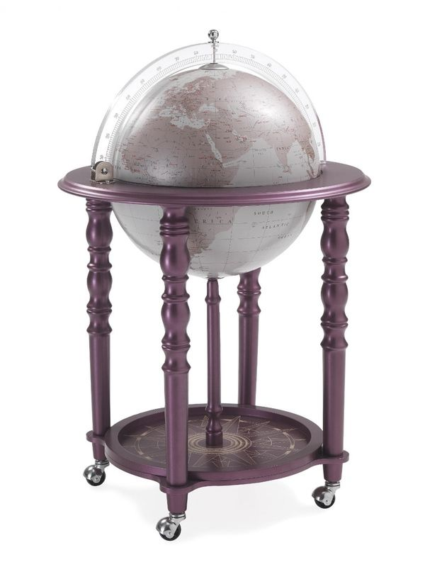 Globe Drinks Cabinet purple grey - Globe Drinks Cabinet Purple Grey Special Globes Bar Pinterest