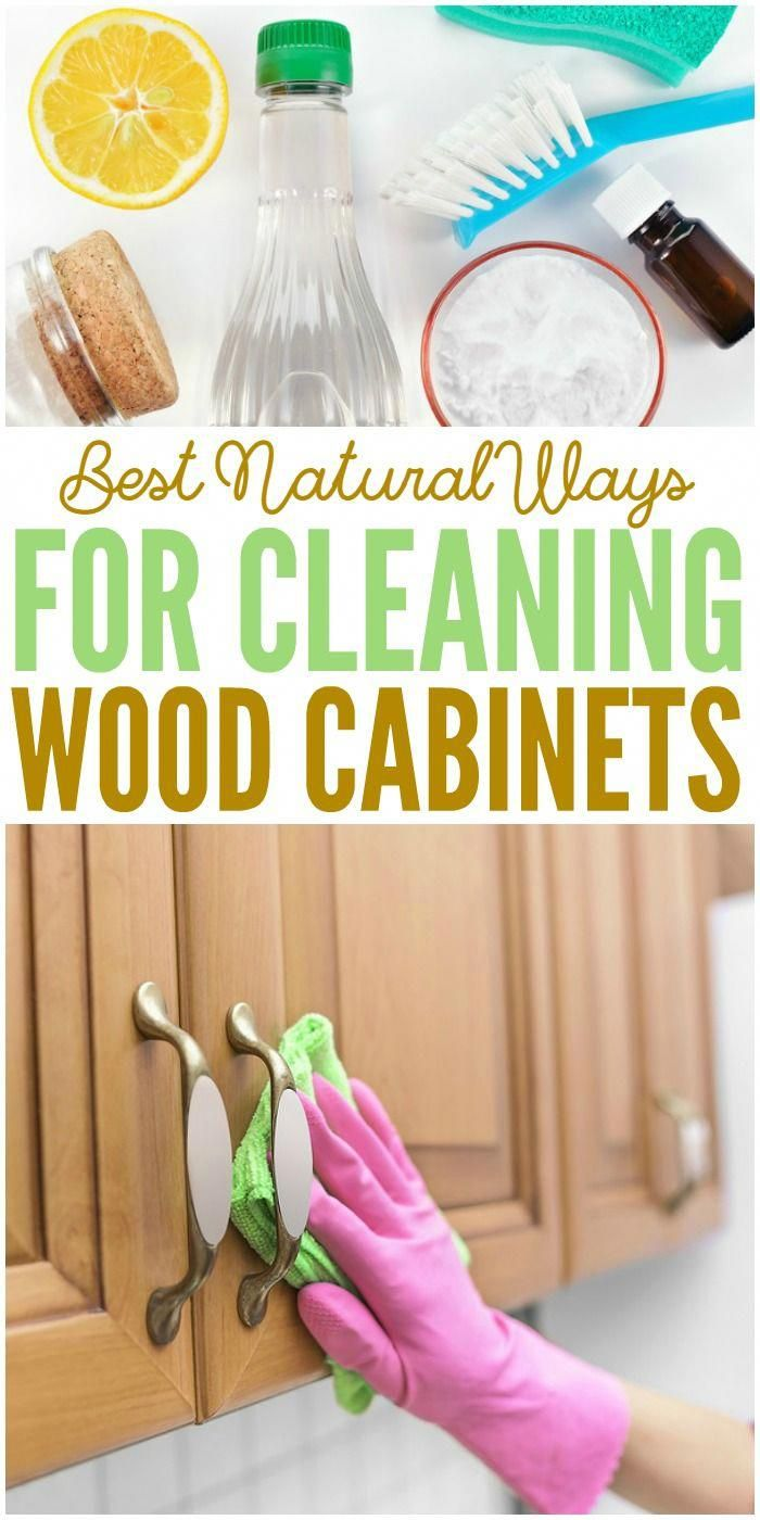 Best Natural Ways for Cleaning Wood Cabinets with Recipes ...
