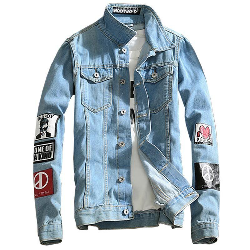 8d8e5725d Bad Boy Street Jean Jacket W  Artwork Sleeves