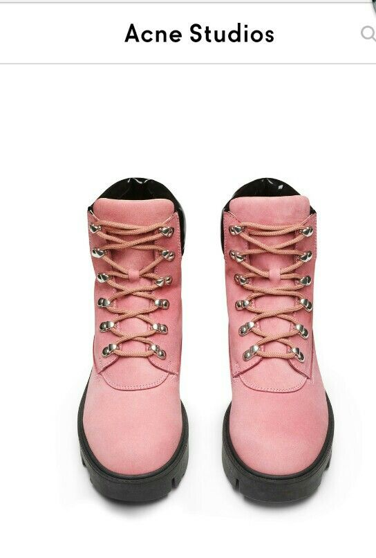 9a8c423a776 Acne telde bubble pink boots vinterskor | [garderob.] | Pink boots ...