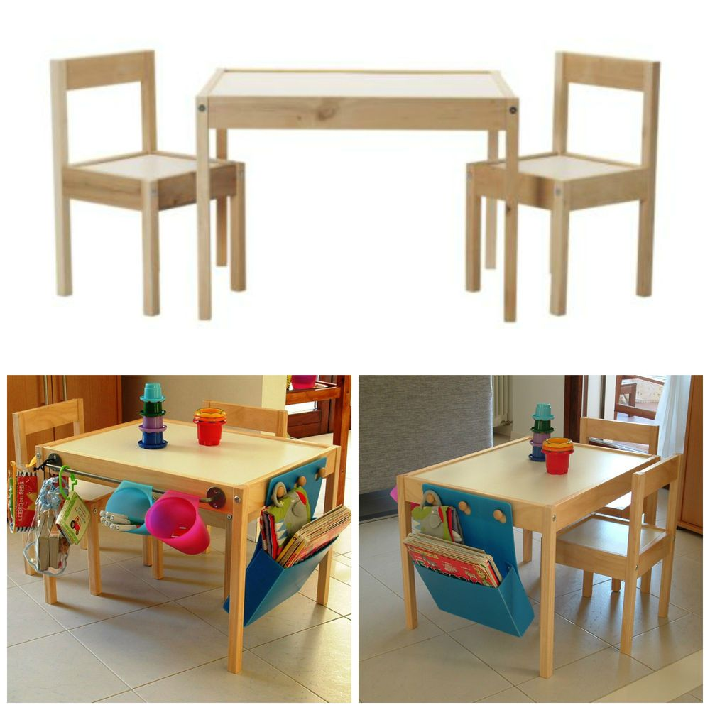 Ikea Latt Wooden Childrens Table Amp Chairs Customize