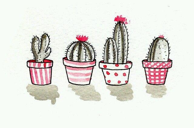 cactus illustration tumblr - Buscar con Google   cuadros   Pinterest ...