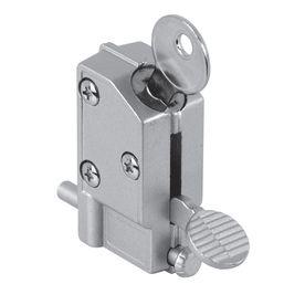 Gatehouse Step On Keyed Aluminum Finish Sliding Patio Door Cylinder Lock Glass Door Lock Sliding Glass Door Sliding Patio Doors