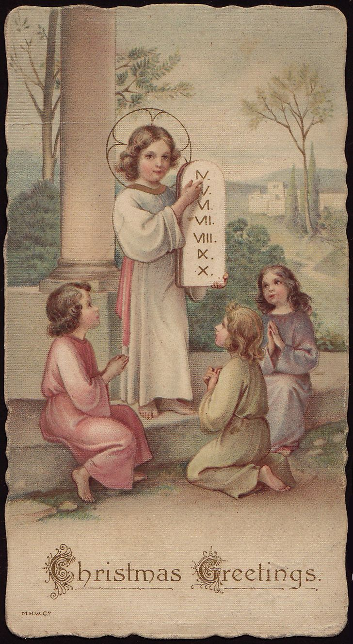 Holy Cards for Children: Learn from Me