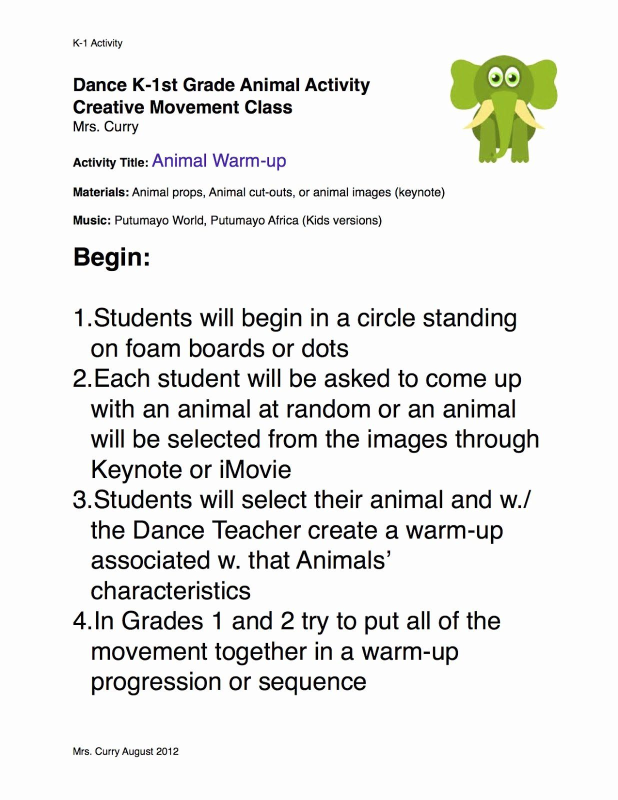 25 Dance Lesson Plan Template In 2020 Lesson Plan Templates