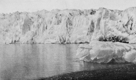 Foto del glaciar Muir (1915)