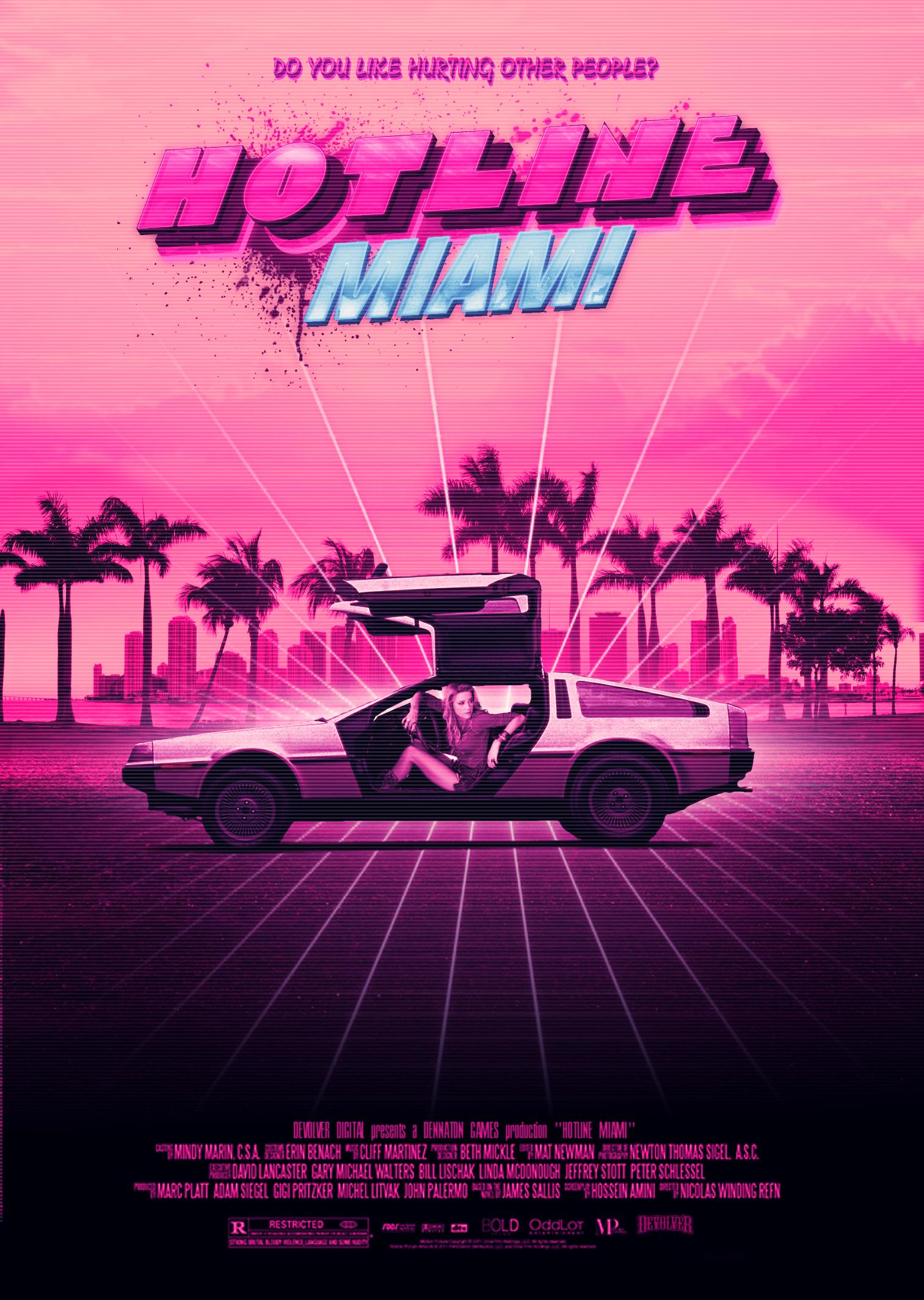 Hotline Miami Hotline Miami Retro Waves Retro Futurism