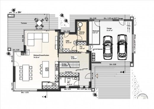 Pin von timo schmidt auf architektur pinterest for Grundriss wohnhaus