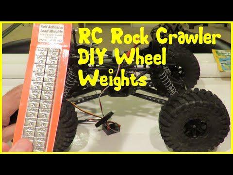 Rc Rock Crawler Wheel Weights Diy Tutorial Rc Rock Crawler Rock Crawler Crawlers
