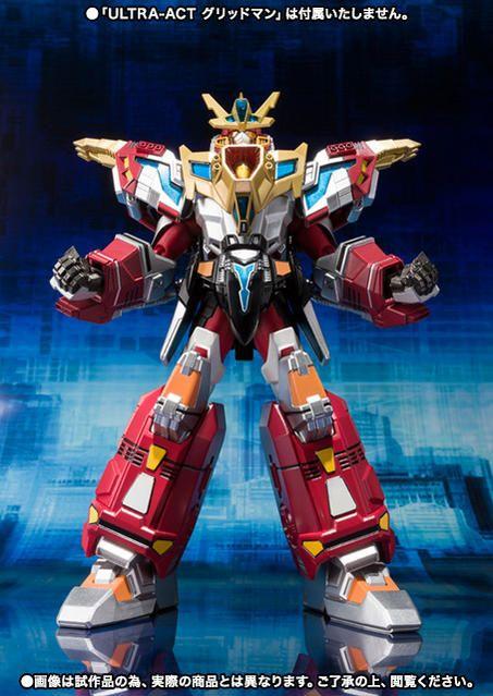 The Upcoming Bandai Tamashii Nations Ultra Act King Gridman I Ve