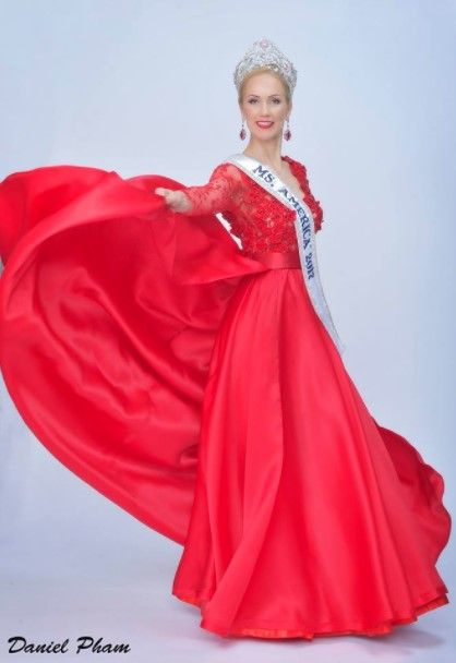 Among older contestants, there have been a few noticeable trends arising in the past year – the color white and capes, just to name a couple! While many people involved in pageantry know what is typical or expected of a Teen or Miss gown, not many know what to look for while shopping as a Ms. contestant. To help you find your perfect Ms. gown, and to show off some of the best we saw in 2016, we have created a list of the top 10 evening gowns worn by Ms. contestants in 2016! Here: Oksana Vovk…