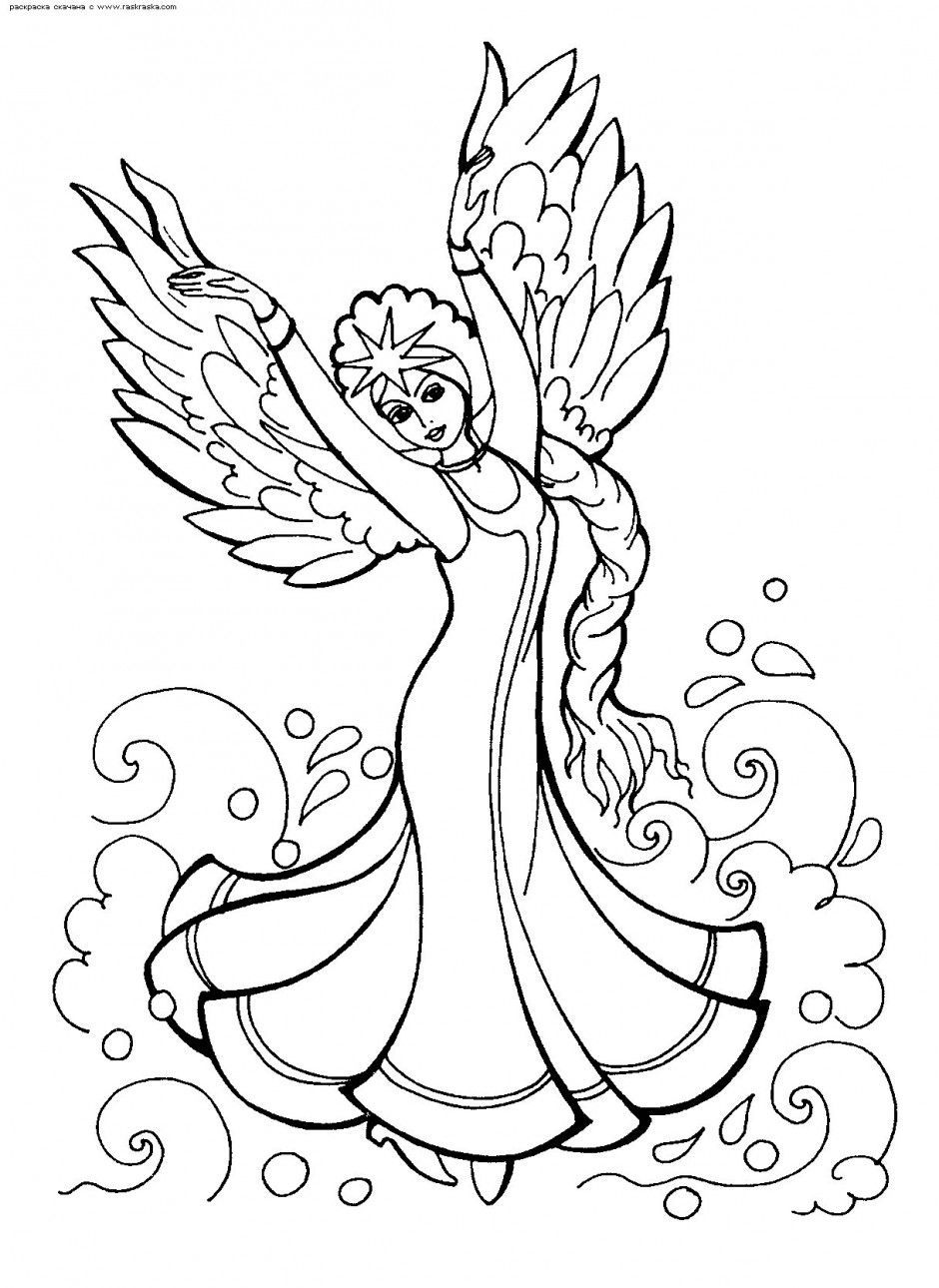 russian folk art coloring pages - photo#7