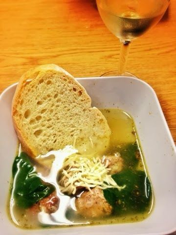 Simple Italian Wedding Soup! So easy and delicious. This soup is good for the soul!