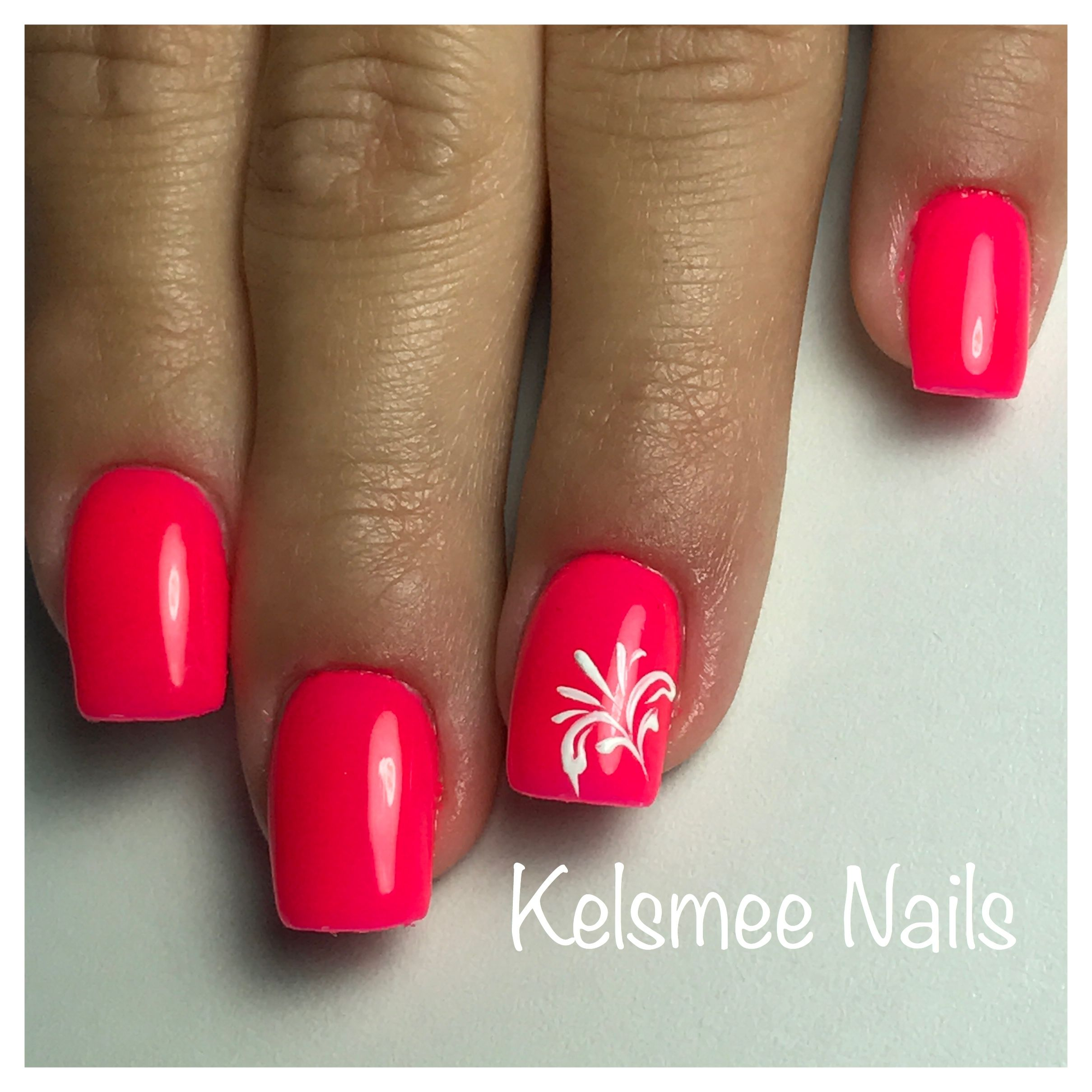 Neon pink - Nails!   Pinterest