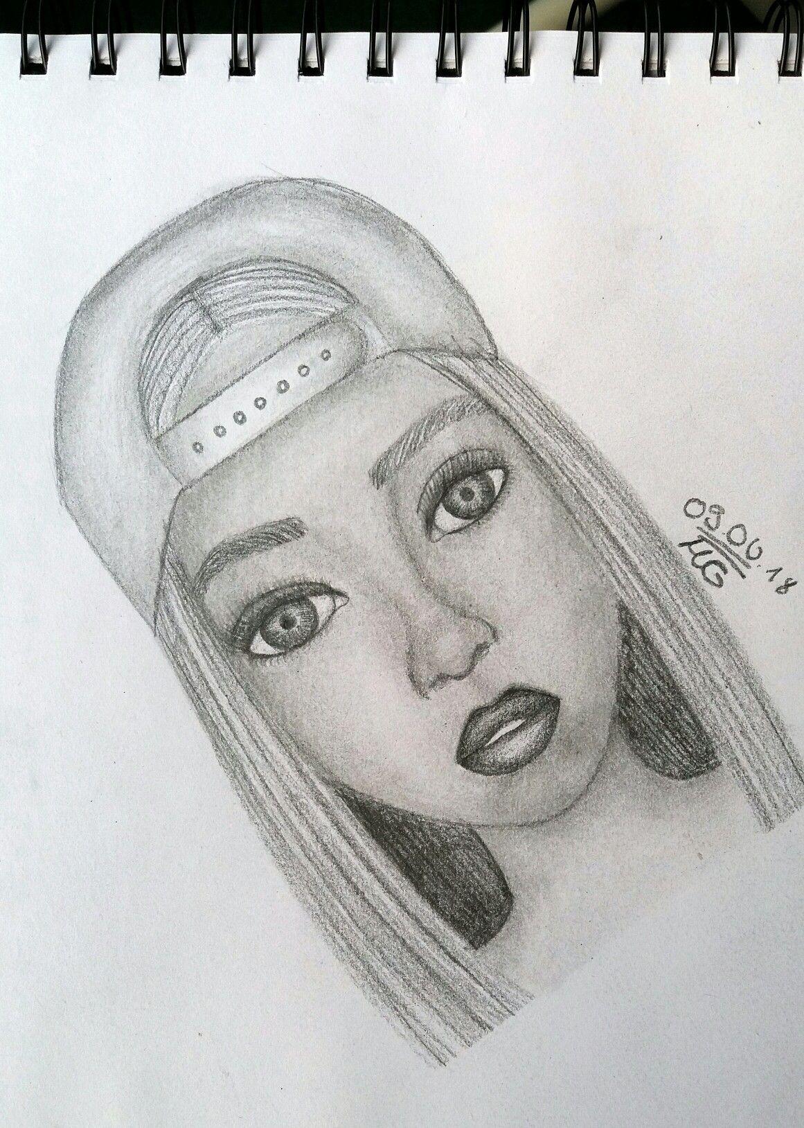 #Draws #Zeichnung #Bleistift #Gesicht #Mädchen ...