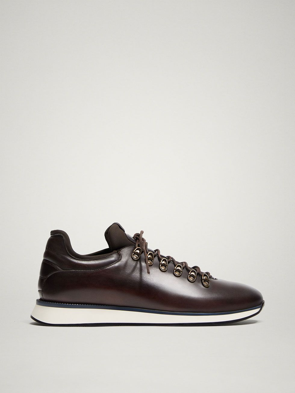 68ca2ffa Limited edition brown leather sneakers in 2019 | Sneakers Custom ...