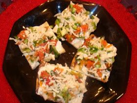 My Favorite Recipes Collection: Cold Veggies Crescent Roll Pizza