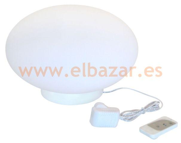 Luz Oval flotante para piscinas, colores, batería | Comprar Ahora | ELBAZAR.ES