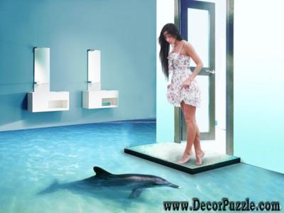 3d Bathroom Floor Murals And Designs, Self Leveling Floors For Bathroom More