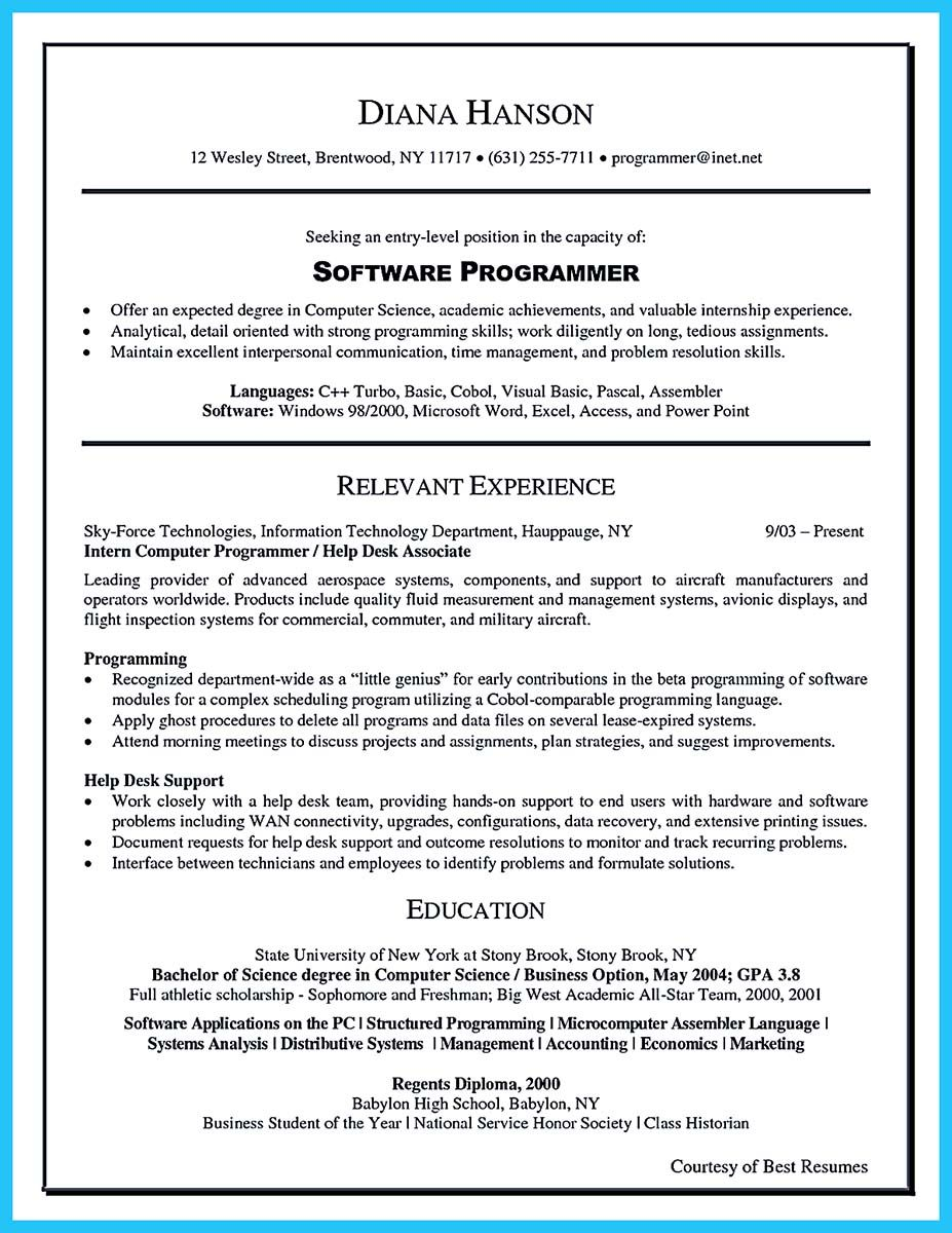 Cool Best Data Scientist Resume Sample To Get A Job Check More At