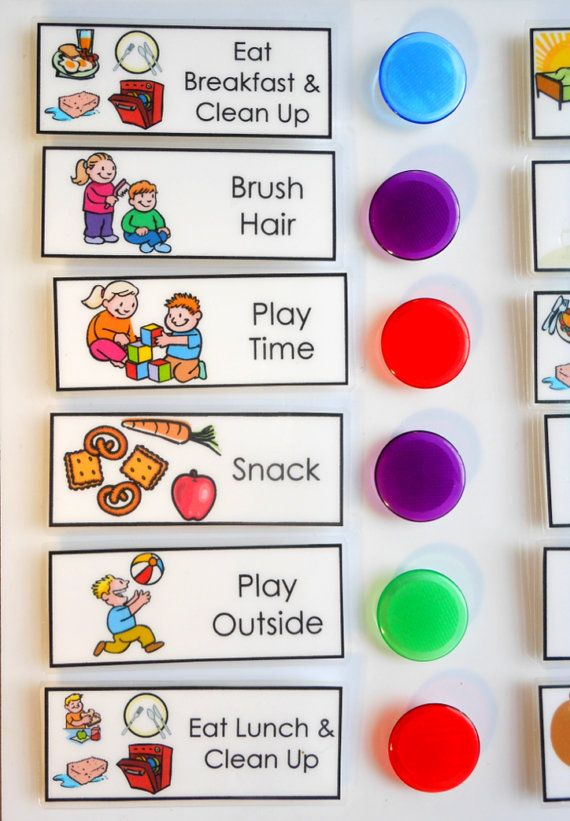 Chore Chart For Kids Daily Checklist To Do List You Choose The