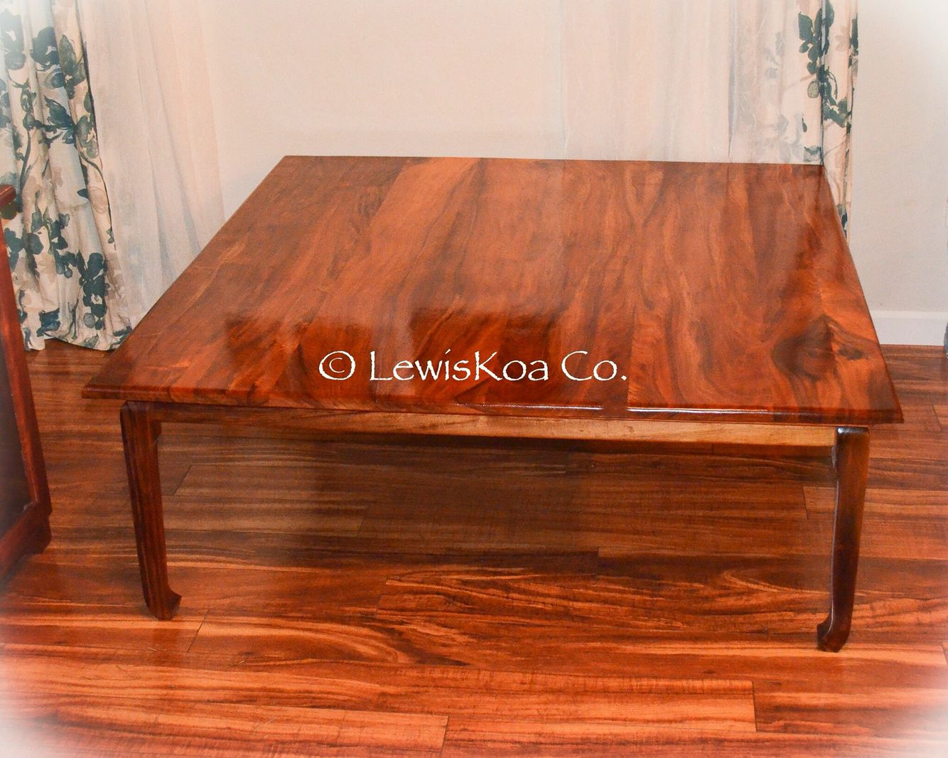 Beautiful Hawaiian Koa Wood Coffee Table From Lewiskoa Co At Gotkoa