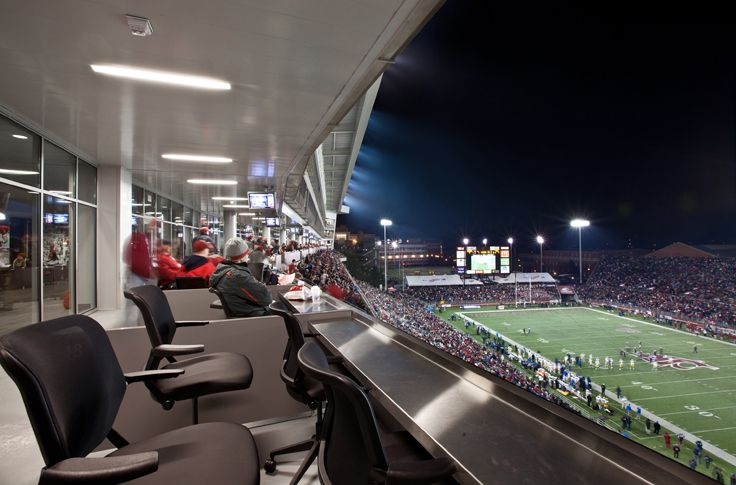 Alsc architects martin stadium south side expansion