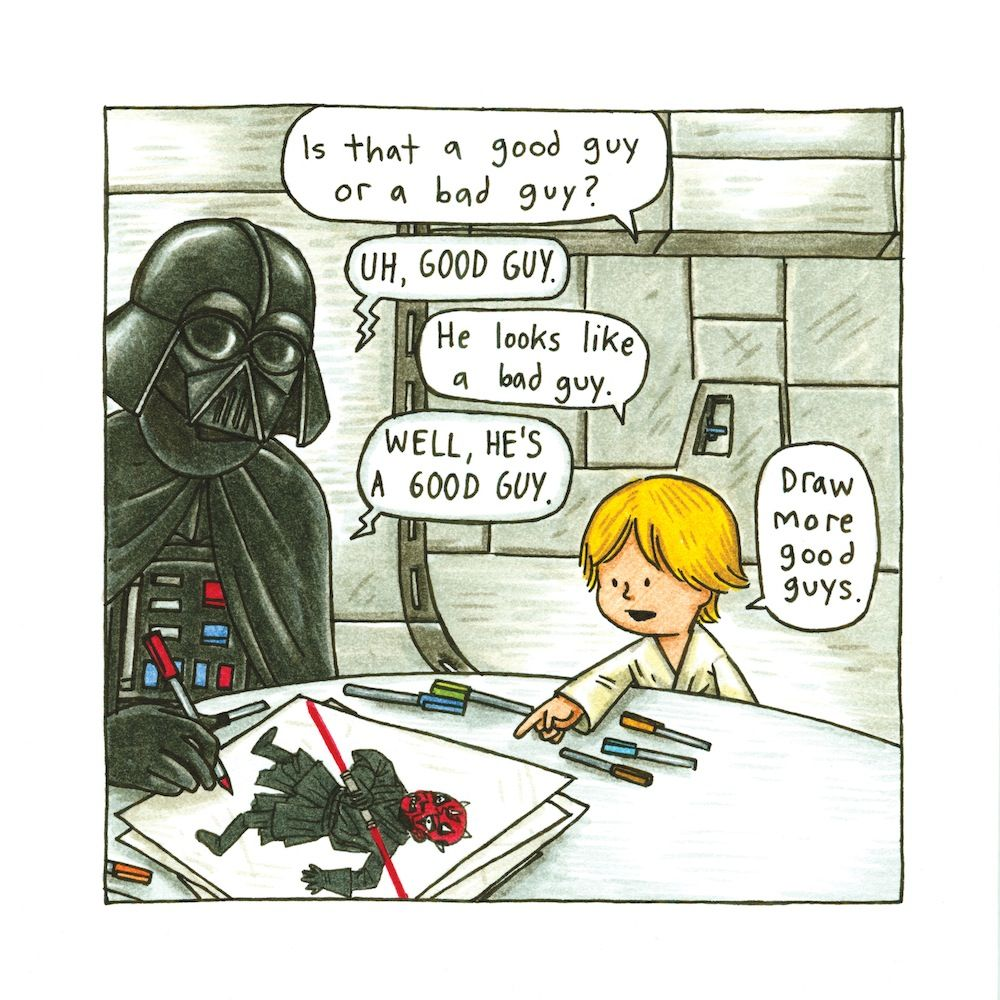 The Darth Vader and Son series