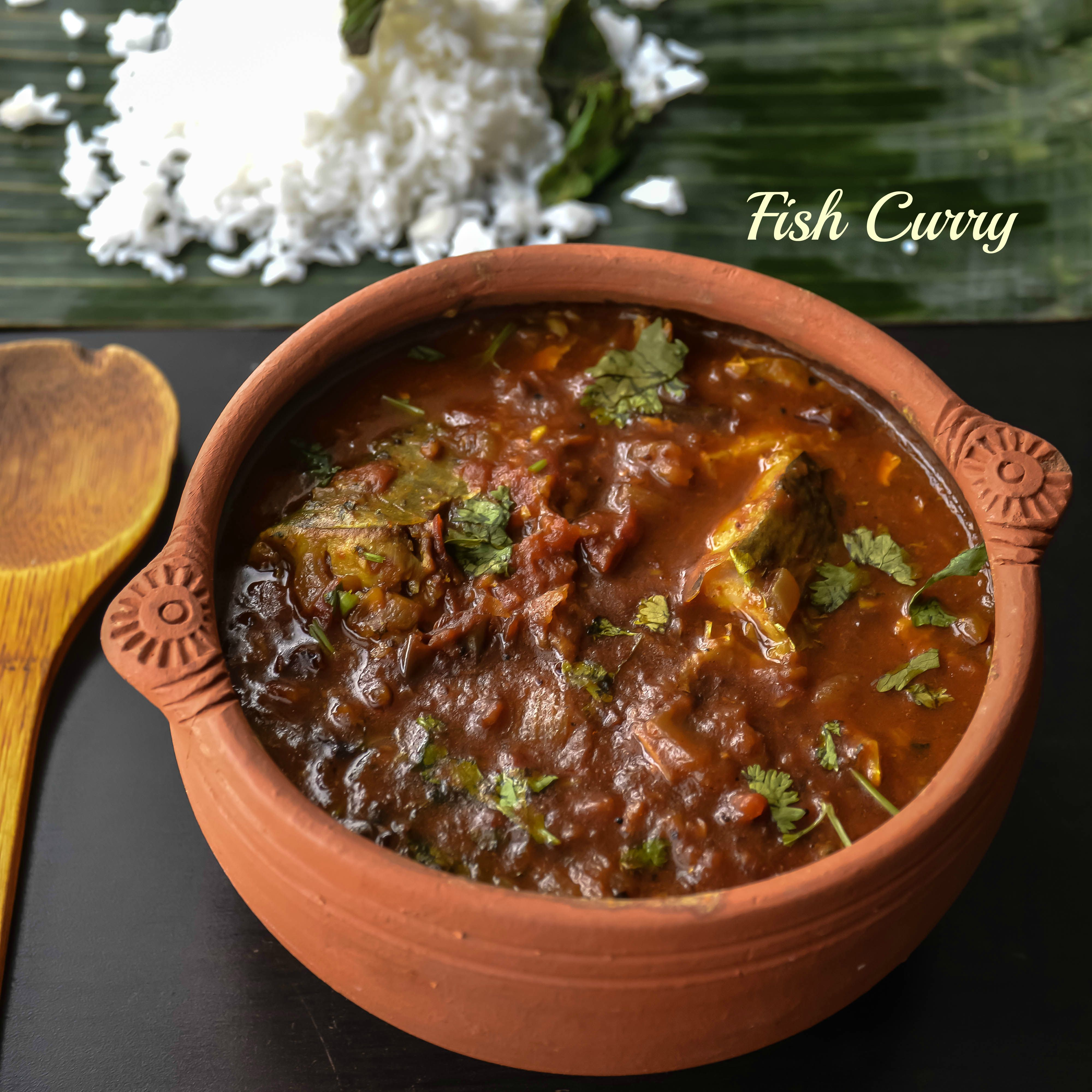 Home Style Fish Curry Meen Kuzhambu Recipe Fish Curry Curry Indian Cooking