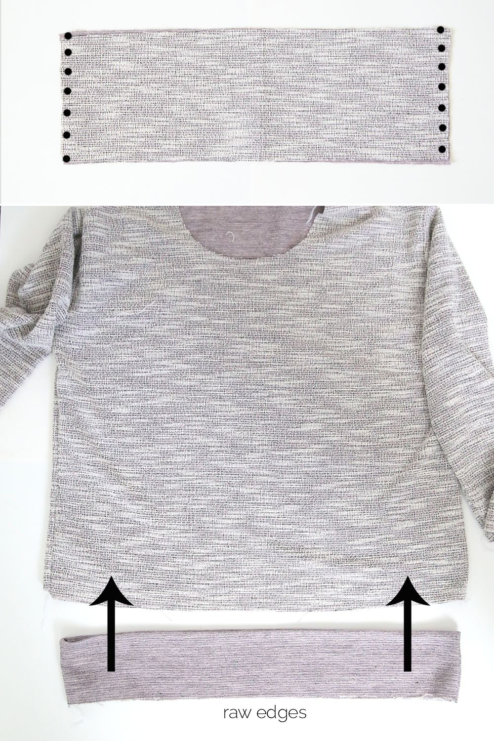 the perfect slouchy sweatshirt | Patterns for sewing | Pinterest ...