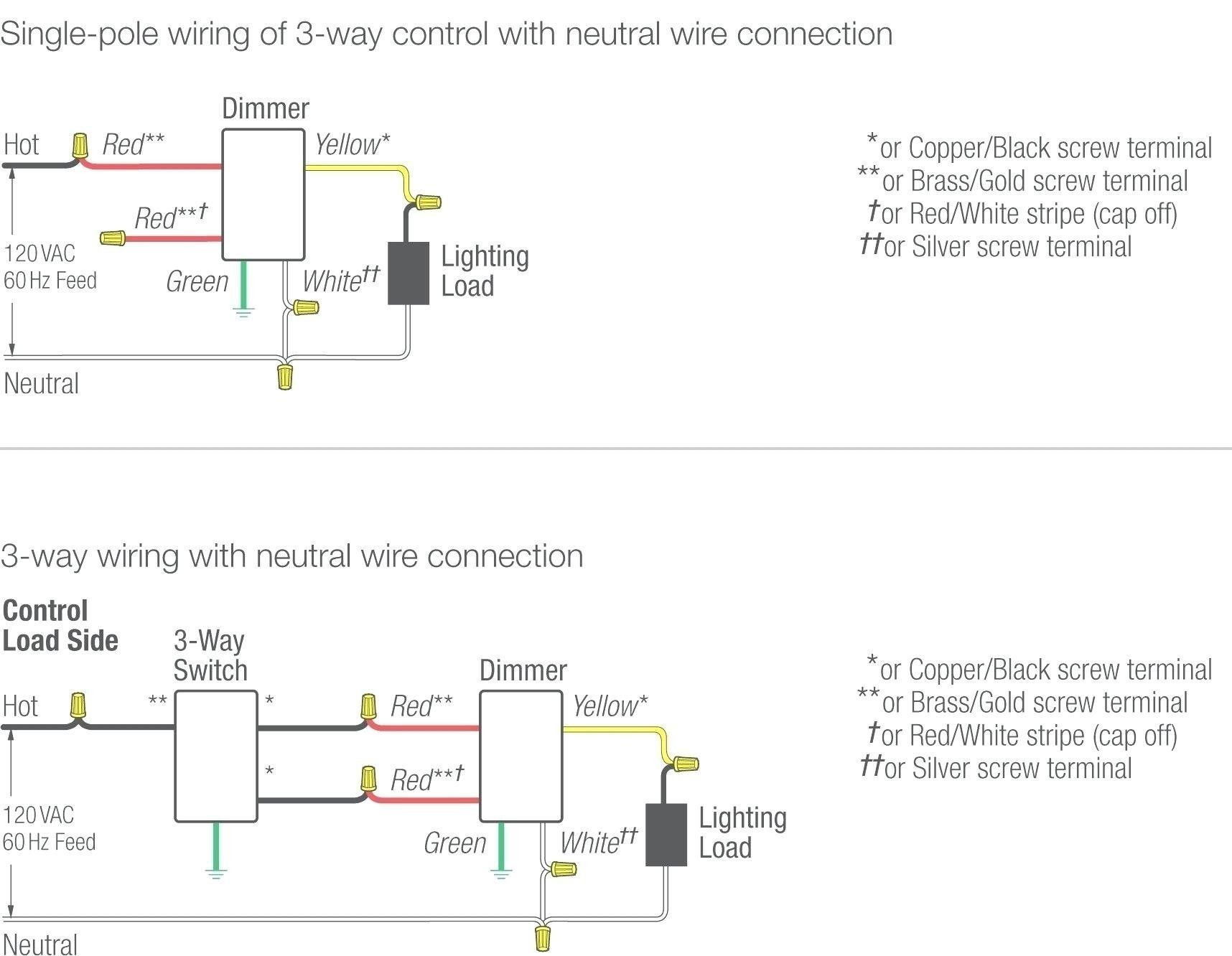 Unique Wiring Diagram Two Way Dimmer Switch 3 way switch