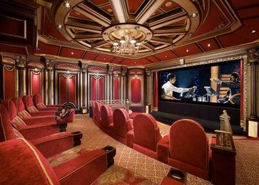 Home Theater traditional-home-theater