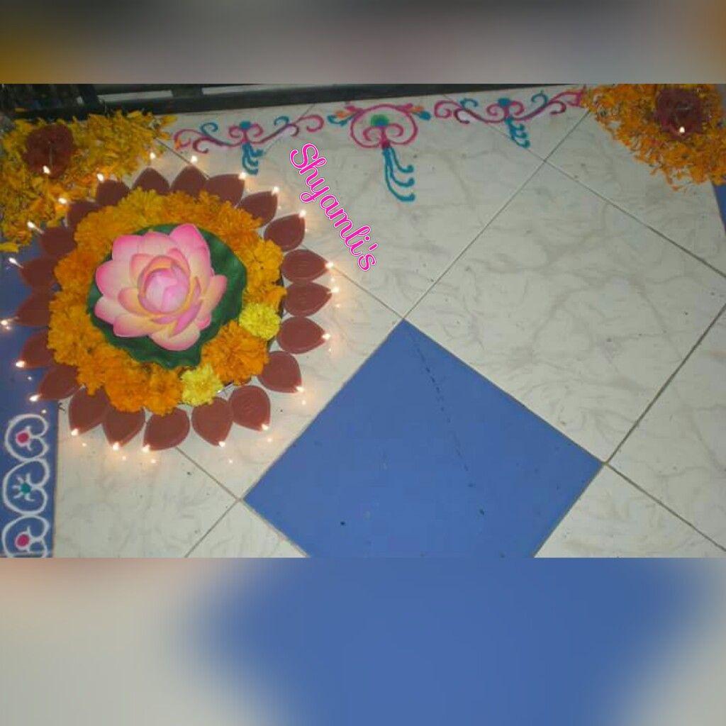 Diwali corner decoration