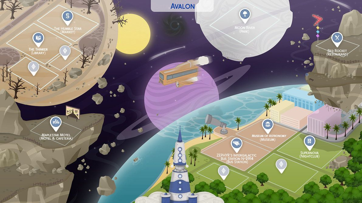 Avalon sims 4 fanmade map by filipesims mundo pinterest mundo avalon sims 4 fanmade map gumiabroncs Image collections