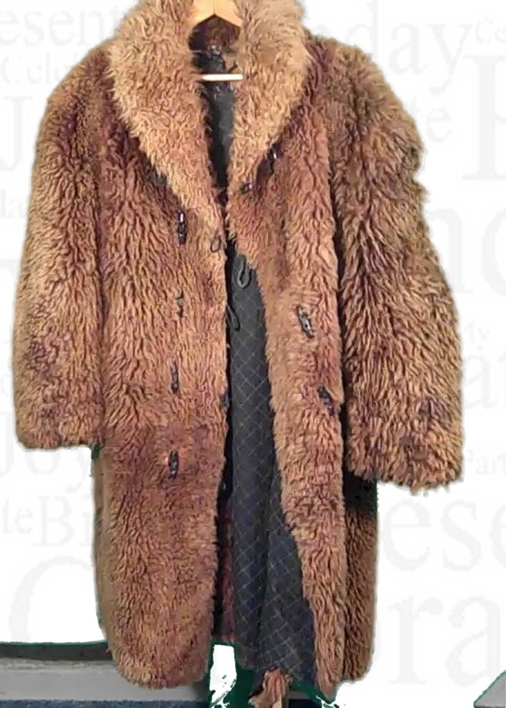 Buffalo Coat Circa 1890 Authentic Buffalo Coat For